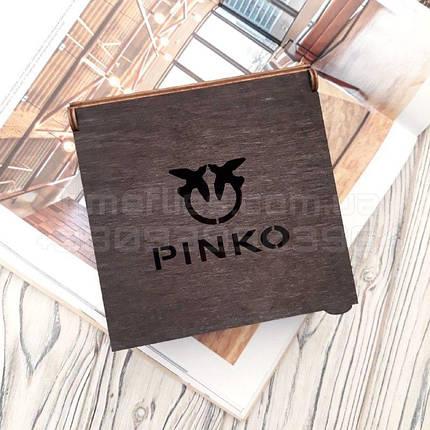 Деревянная коробка для ремня Pinko, фото 2