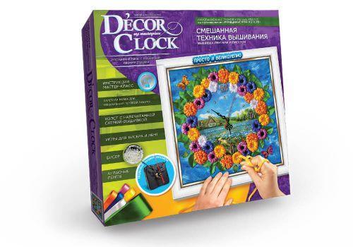 "Набор для творчества ""Часы Decor Clock. Деревня""  sco"