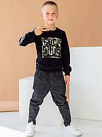 Детский свитшот с крутым камуфляжным принтом