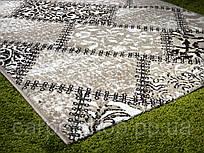 Тканная бежевая ковровая дорожка Capuccino, Karat Carpet: 100; 150 см