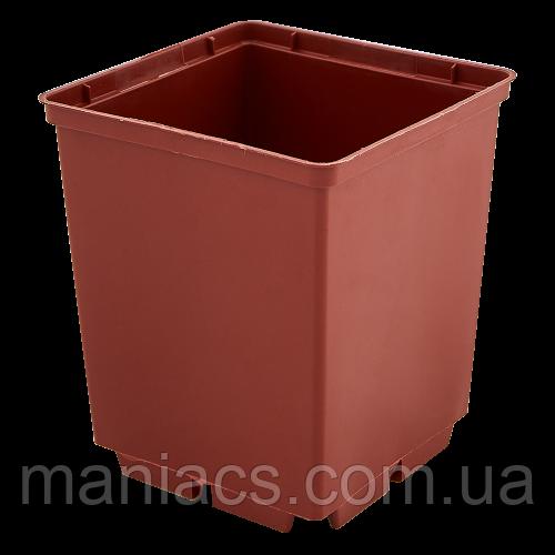 ВАЗОН ДЛЯ РАССАДЫ КВАДРАТНЫЙ 12,0*19,5 см
