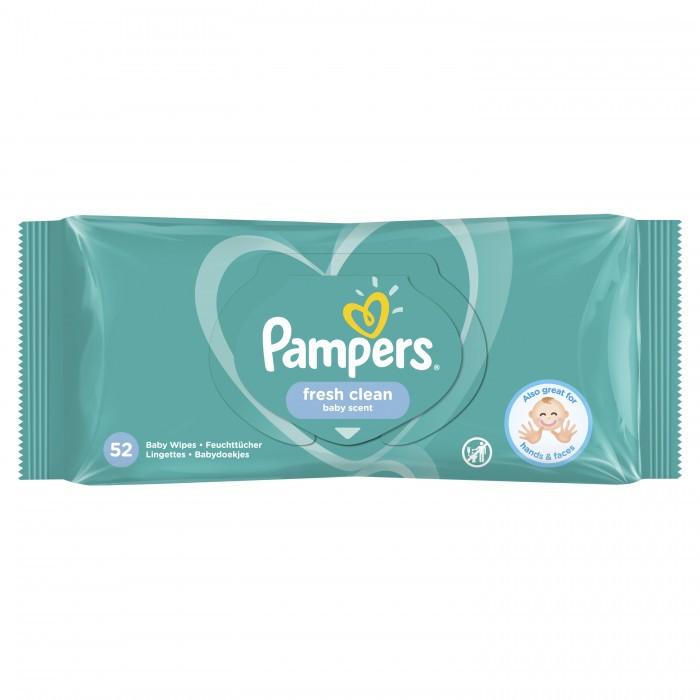 Салфетки влажные Pampers 52 шт. Fresh clean