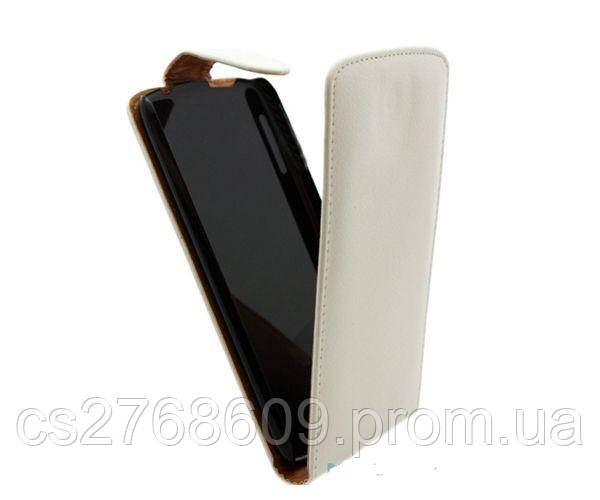 "Чехол книжка ""Croco Case"" Nokia 200 білий"