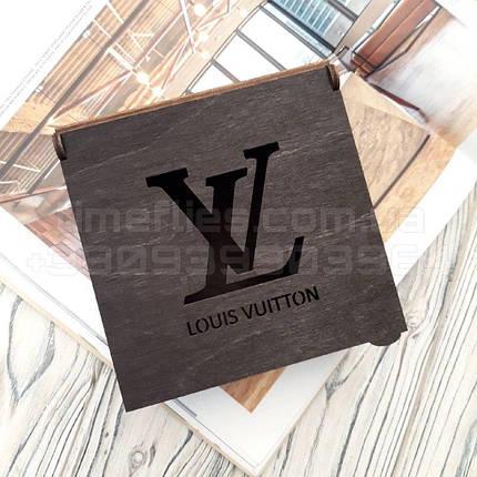 Деревянная коробка для ремня Louis Vuitton, фото 2