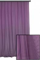 Тюль Гипюр Французский Фиолетовый (Турция) , фото 1