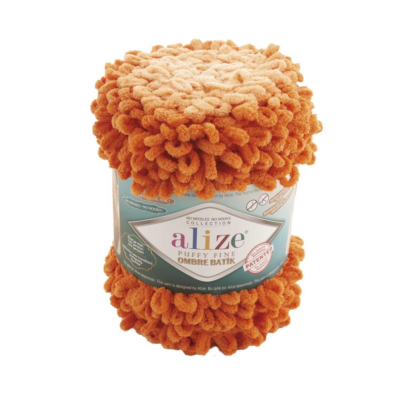 Puffy Fine Ombre Batik №7296