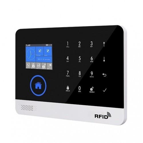 Сенсорная GSM Alarm JYX G600 сигнализация для дома с датчиком движения и WIFI