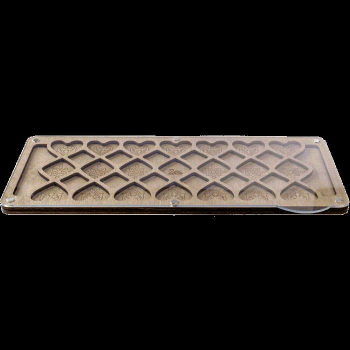Органайзер для бисера с прозрачной крышкой FLZB-095
