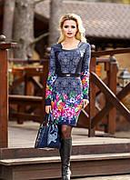 Платье с ярким цветочным принтом, фото 1