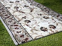 Ворсовая бежевая ковровая дорожка Lotos, Karat Carpet: 60; 80; 150; 200 см