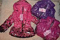 Куртка на синтепоне и меховой подкладке для девочек 4-12 лет , фото 1