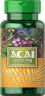Антиоксидант Puritan's Pride - ACAI 1000 мг (60 капсул)