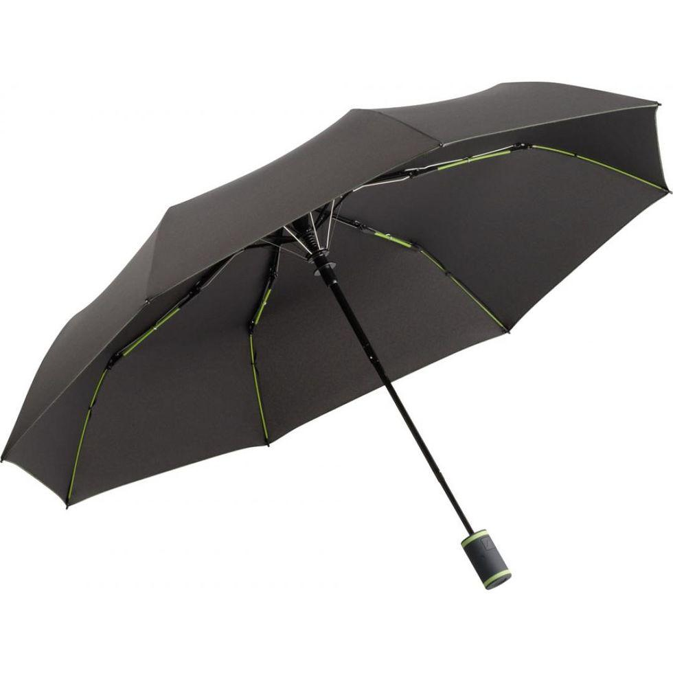Зонт складной Fare 5583 Антрацит + лайм (1055)