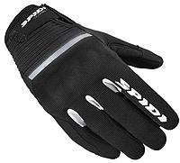 Мотоперчатки женские Spidi Flash черный / белый, L