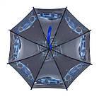 Детский зонтик для мальчиков SL Гонки Черный (18104-6), фото 4