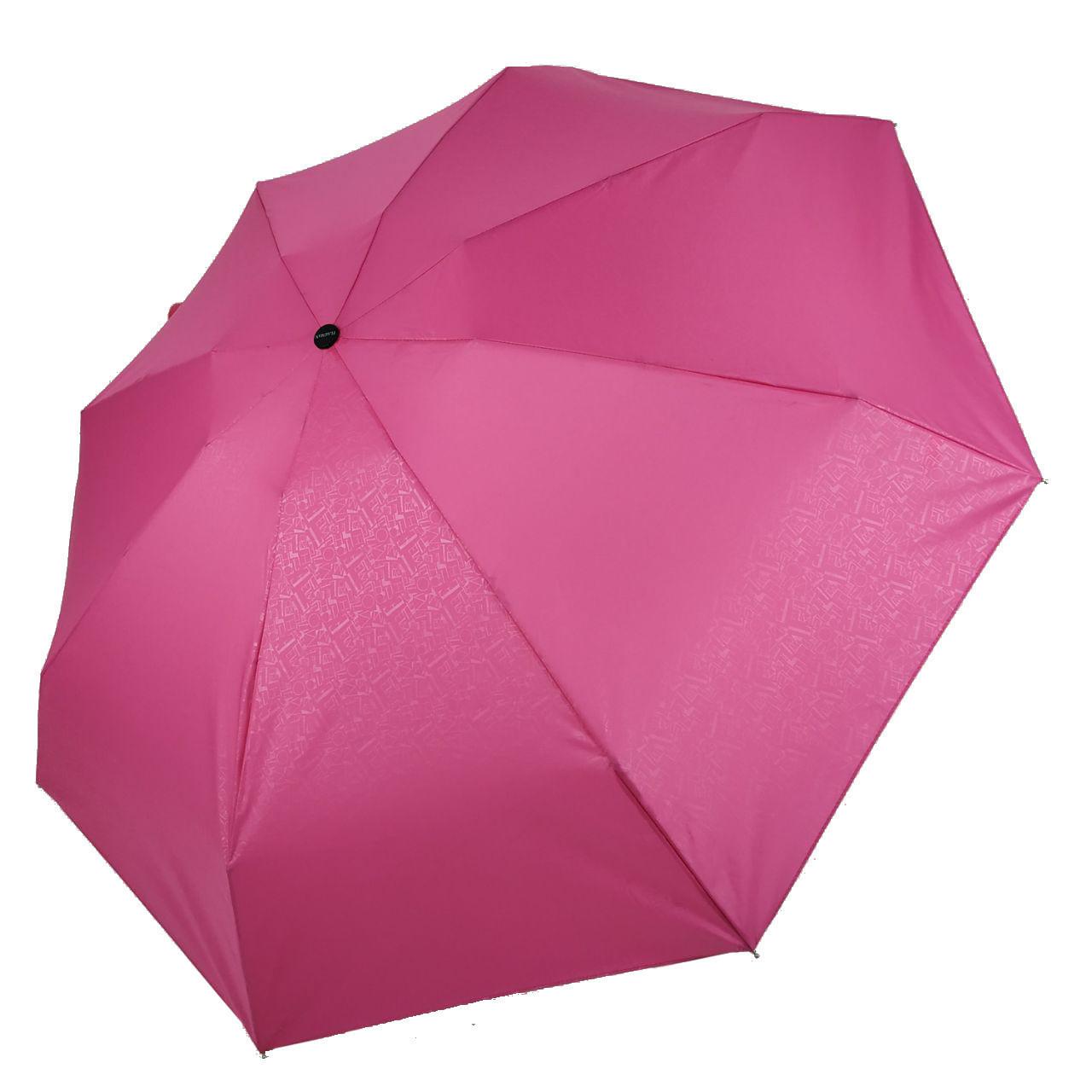 Женский механический зонт Flagman Малютка Розовый (704-6)