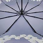 Женский зонт-полуавтомат с орхидеями от Flagman Фиолетовый (733-8), фото 5