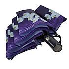Женский зонт-полуавтомат с орхидеями от Flagman Фиолетовый (733-8), фото 6