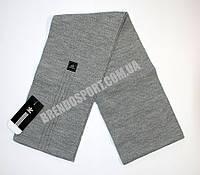 Шарф Adidas серый мужской