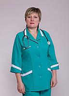 "Медицинский костюм женский ""Health Life"" габардин 1206"