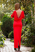 """Д732 Платье длинное """"Изящность"""", фото 3"""