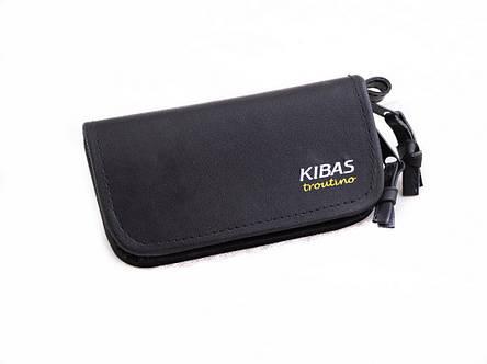 Гаманець рыбацкиц для блешень KIBAS, чорний, розмір XS, (екошкіра), фото 2