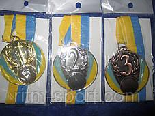 Медаль спортивная с Украинской символикой, фото 3