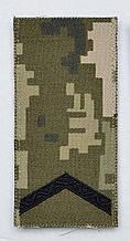 Погон 2020 піксель старший солдат