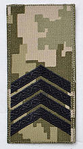 Погон 2020 піксель старший сержант