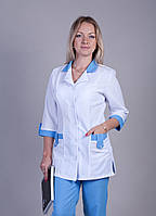 "Медицинский костюм женский ""Health Life"" габардин 1211"
