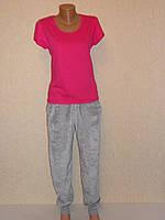 Футболка женская с коротким рукавом -хб-яркие цвета 50