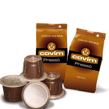 Кофе в капсулах Covim Nespresso Oro Crema 5 (50 шт.), Италия (Неспрессо)