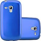 Чехол Mobiking Silicon Case Samsung I8190 Blue