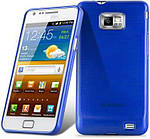 Чехол Mobiking Silicon Case Samsung I9100 Blue