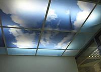 УФ фотопечать на потолочных и стеновых панелях