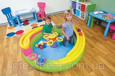 Детский надувной игровой центр Intex 48658 (152х50 см.), фото 2