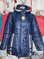Куртка женская зимняя синяя