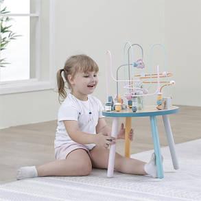 Деревянный игровой центр Viga Toys PolarB Столик с лабиринтом (44033), фото 2