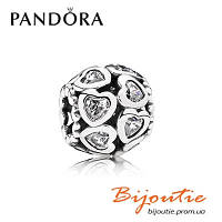 Pandora Шарм УЗЫ ЛЮБВИ 791250CZ серебро 925 Пандора оригинал