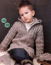 Детские кофты, свитера, батники для мальчиков