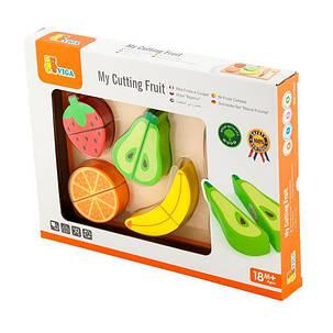 Игрушечные продукты Viga Toys Деревянные фрукты (50978), фото 2