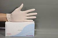 """Рукавиці медичні латексні (розмір """"M"""") (100 шт.)"""