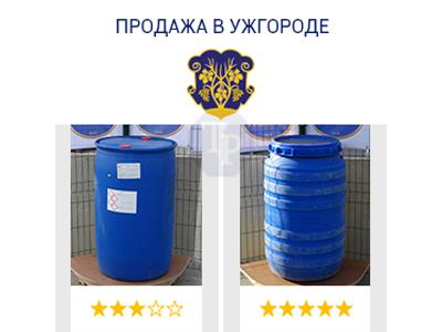 0237-05/1: С доставкой в Ужгород ✦ Бочка (220 л.) б/у пластиковая