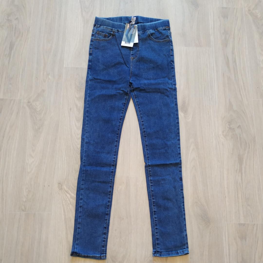 Джинсы женские синие размер 30