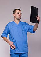 "Медицинский костюм мужской ""Health Life"" х/б 2223"