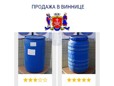 0244-11/1: С доставкой в Винницу ✦ Бочка (220 л.) б/у пластиковая