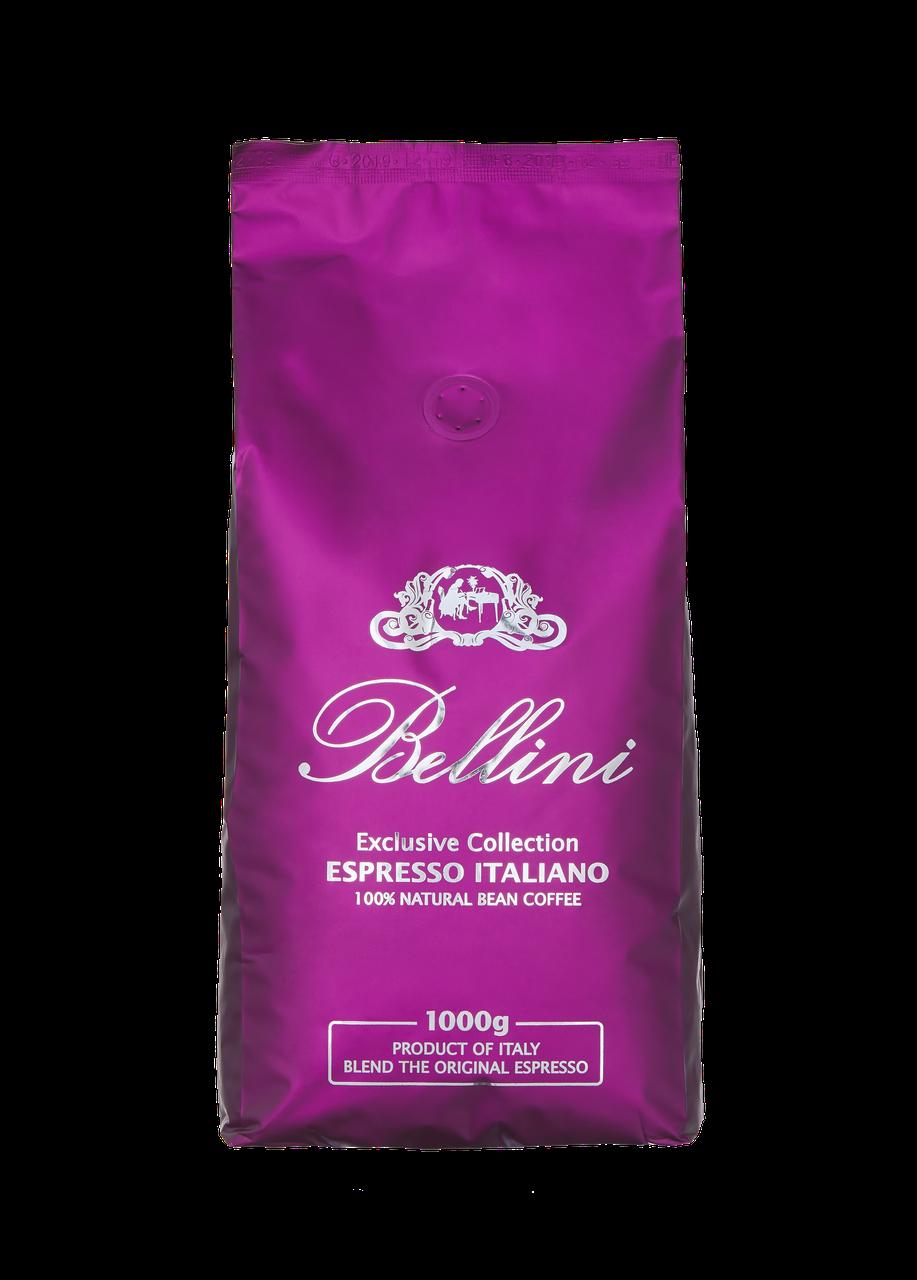 Кофе в зернах Bellini Espresso Italiano (фукция) 1кг отлично сбалансированный вкус с пряными тонами.Арабика,ро