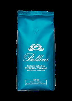 Кофе в зернах Bellini Espresso Italiano Aquamarin 1 кг с оттенком терпкого какао и нотками специй.Арабика,робу