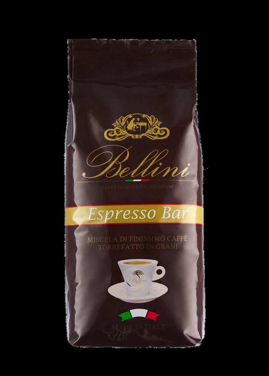 Кофе в зернах Bellini Espresso Bar 1 кг ярко выраженный аромат карамели и стойкое послевкусие. Арабика,робуста