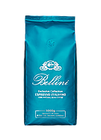 Кофе Bellini Espresso Italiano Aquamarin молотый 250 г с оттенком какао и нотками специй, для кофемашин,гейзе